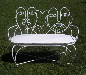 Wedding Rental - Bride & Groom Bench